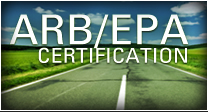 ARB / EPA Certification